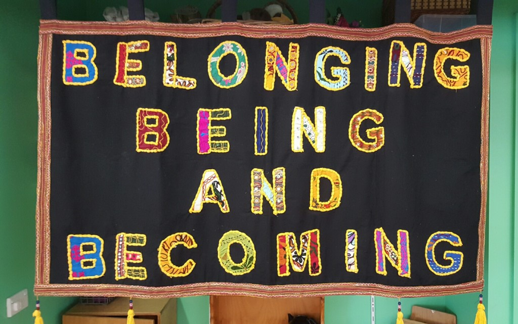 Belonging Being and Becoming