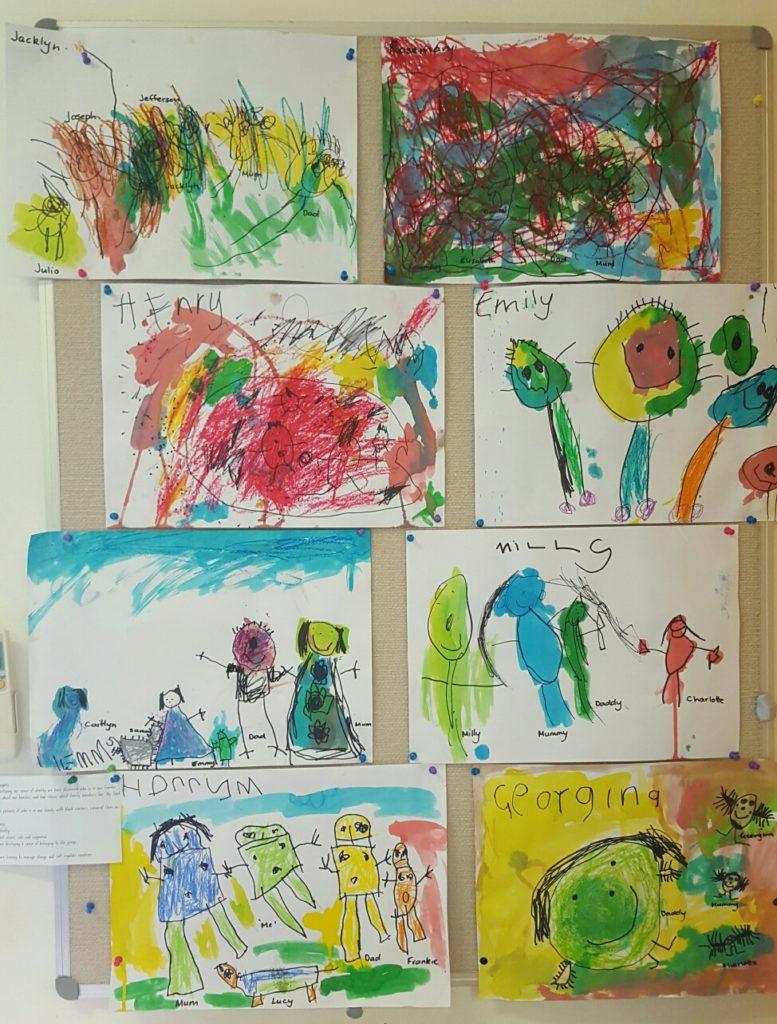 sos preschool childrens artwork